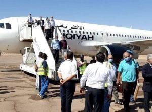 استئناف الرحلات الجوية إلى مطار سبها الدولي