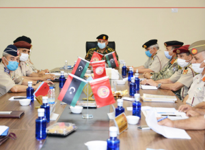 رئاسة الأركان العامة تُتابع العملية التعليمية بالمؤسسات العسكرية