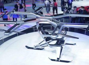الصين تكشف عن أحدث مركباتها «الكهربائية الطائرة»
