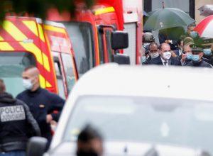 حادثة طعن قرب مقر مجلة «شارلي إبدو» في باريس