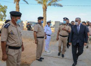 «باشاغا» يتفقد مديرية أمن الجفارة ومركز شرطة النجيلة