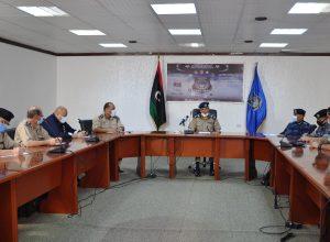 داخلية «الوفاق» تُناقش الاستعدادات للاحتفال بيوم الشرطة الليبية