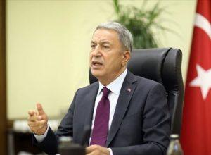 أكار: تركيا تقف بجانب أذربيجان وعلى أرمينيا وقف هجماتها