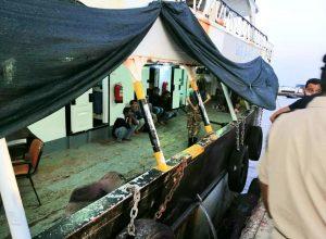 إنقاذ 22 مهاجراً وانتشال 3 جثث قُبالة سواحل الخمس