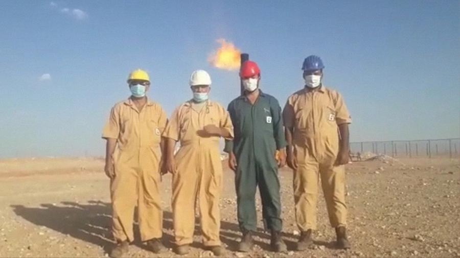 استئناف عمليات الإنتاج بحقل الحمادة النفطي