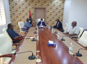 الرئاسي يُناقش الوضع الأمني والخدمي ببلدية غات