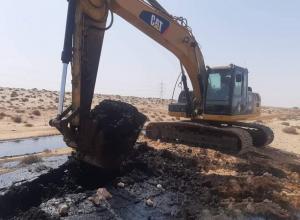 الانتهاء من صيانة خط نقل الخام بين حقل آمال النفطي وميناء رأس لانوف