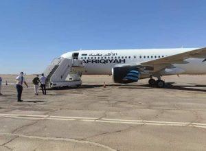 الخطوط الإفريقية تُوقف رحلاتها إلى مطار سبها