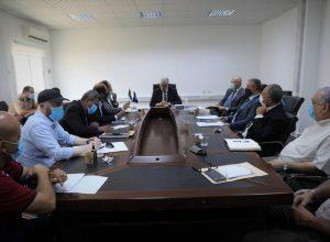 «باشاغا» يترأس اجتماع لجنة المشروعات الإستراتيجية والتقنية والفنية