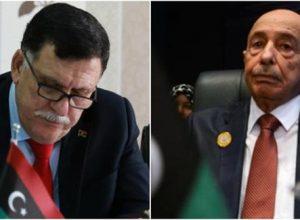 لقاء مرتقب بين عقيلة صالح وفائز السراج في مالطا