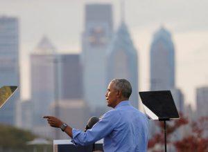 لمنع فوز ترامب.. أوباما يدعو الأمريكيين إلى إقبال «غير مسبوق» في الانتخابات