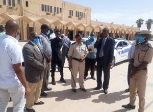 زيارة تفقدية لمطار غات الدولي استعدادا لاستئناف الرحلات الجوية
