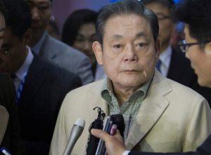 وفاة رئيس مجموعة «سامسونغ»