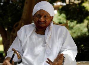 الصادق المهدي: التطبيع يُناقض المصلحة الوطنية العليا والموقف الشعبي السوداني