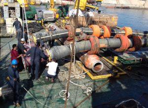 انتهاء أعمال الصيانة الجزئية للمرسى رقم 3 بميناء الزاوية النفطي