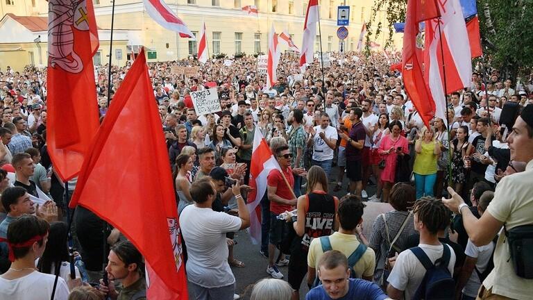 إطلاق رصاص في مسيرة غير مُصرح بها في «مينسك»