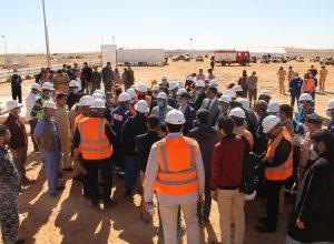 افتتاح أول حقل نفطي في نالوت