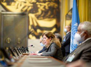 كلمة المبعوثة الأممية عقب مراسيم توقيع اتفاق وقف إطلاق النار