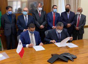 توقيع مذكرة تعاون بين ليبيا ومالطا في مجال النقل الجوي والبحري