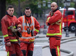 فيديو.. إجلاء المئات جراء حريق في ميناء «لو هافر» شمال فرنسا