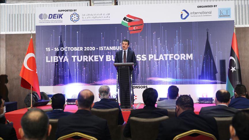 انطلاق أعمال المنتدى الاقتصادي الليبي التركي