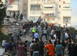 6 قتلى على الأقل و202 جريحاً جراء زلزال ضرب إزمير التركية