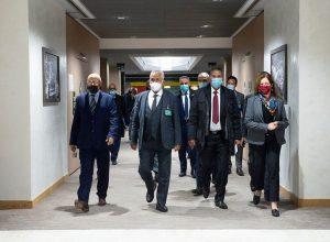 الاتحاد الأوروبي يصف محادثات لجنة 5+5 بـ«الإشارات المُشجعة»