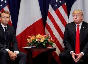 ترامب يُخطئ بمنصب «ماكرون»