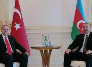 الرئيس التركي يبحث مع نظيره الأذربيجاني تطورات النزاع في قره باغ
