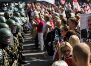 يلاروس.. اعتقال نحو 250 شخصاً خلال احتجاجات في مينسك