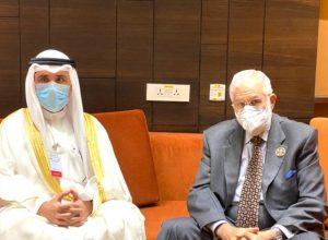 «سيالة يلتقي» وزير الخارجية الكويتي  بالعاصمة النيجيرية نيامي