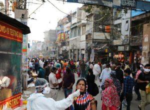 الهند.. إصابات فيروس كورونا  تتخطى الـ 9.4 مليون