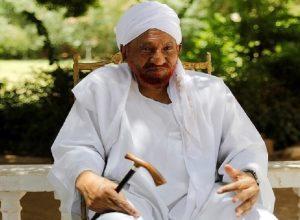 السودان يُعلن الحداد 3 أيام على وفاة «المهدي»