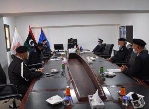 داخلية «الوفاق» تُناقش الخطط الأمنية لمديريات أمن المنطقة الغربية