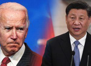 الرئيس الصيني يُهنئ «بايدن» ويأمل تعزيز العلاقات معه