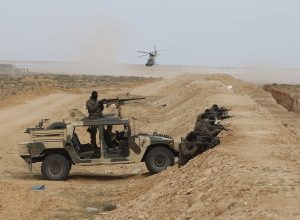تونس.. الجيش يُطلق النار على متسللين في منطقة حدودية عازلة