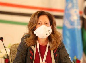 كلمة المبعوثة الأممية في الاجتماع الافتراضي الـثالث لملتقى الحوار