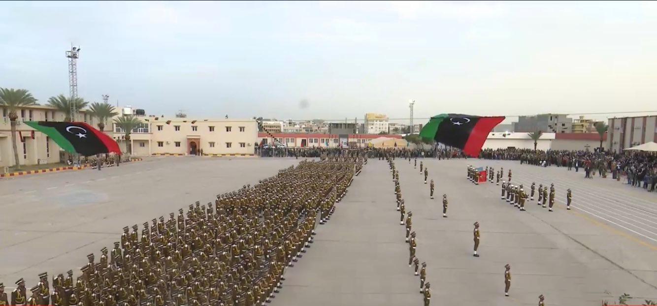 احتفال بتخريج دفعة جديدة من الكلية العسكرية طرابلس