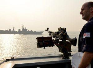 تسجيل حركة غير مسبوقة للسفن الحربية الروسية قرب مياه بريطانيا الإقليمية