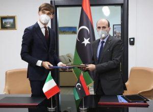 توقيع مذكرة تفاهم بين ليبيا وإيطاليا في مجال التعليم