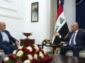 الرئيس العراقي.. يُدين اغتيال العالم الإيراني ويدعو الى عدم التصعيد