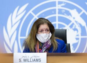 وليامز: العملية السياسية لحل الأزمة هي عملية ليبية ليبية خالصة