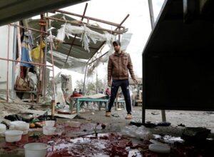 العراق.. مقتل وإصابة العشرات جراء تفجير انتحاري مزودج وسط بغداد