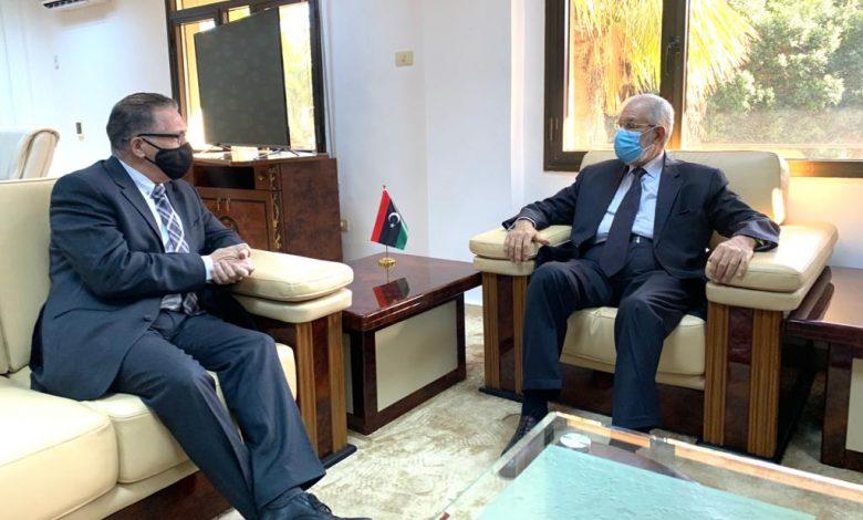 «سيالة» يستقبل سفير جمهورية مالطا لدى ليبيا