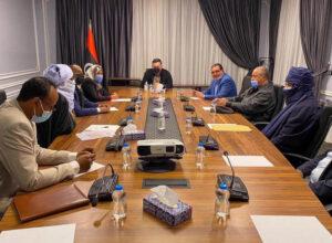 الرئاسي يستعرض الأوضاع الخدمية والأمنية بالجنوب الليبي
