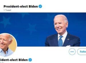 في أول تغريدة بصفته رئيساً.. «بايدن» يتعهد بخطوات حازمة