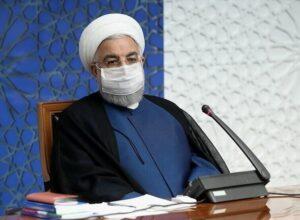حسن روحاني: التطعيم ضد كورونا سيبدأ في إيران الشهر القادم
