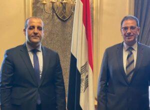 اجتماع في القاهرة لمتابعة نتائج زيارة الوفد المصري لطرابلس