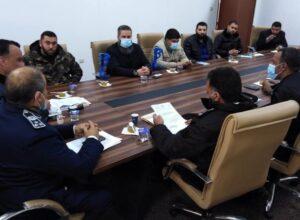 لجنة دمج «قوات الثوار» تستعرض جاهزية معهد الضباط لاستقبال المتدربين