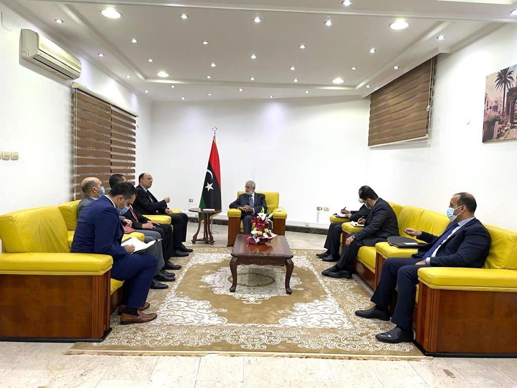 مصر تُؤكد استمرار جهودها لرعاية العملية السلمية في ليبيا